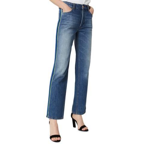 VICTORIA, VICTORIA BECKHAM Blue Vintage Arizona Stretch Jeans