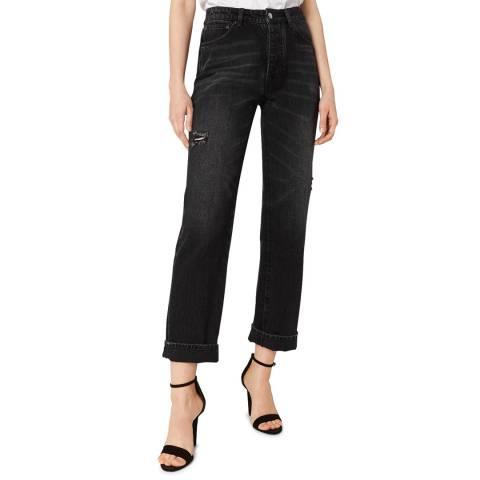VICTORIA, VICTORIA BECKHAM Black Vintage Arizona Stretch Jeans