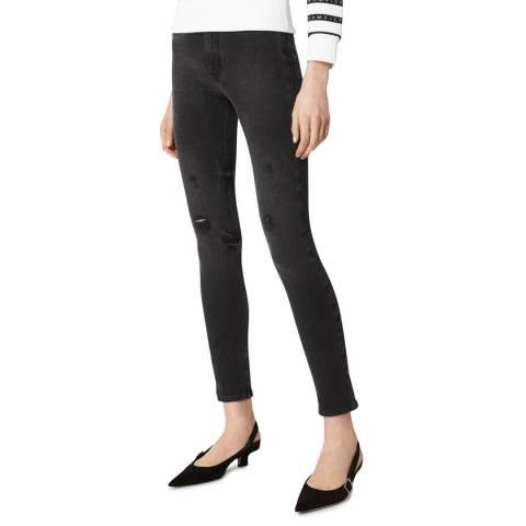 VICTORIA, VICTORIA BECKHAM Black Power High Stretch Jeans