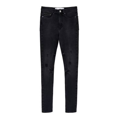 VICTORIA, VICTORIA BECKHAM Black Power High Stretch Jeans