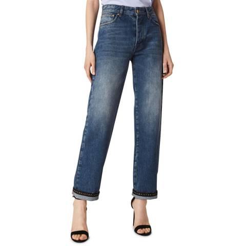 VICTORIA, VICTORIA BECKHAM Blue Mist Arizona Jeans