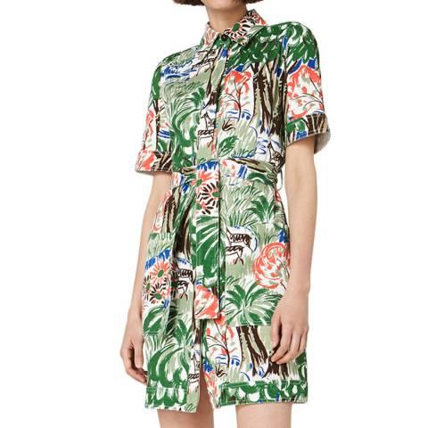 VICTORIA, VICTORIA BECKHAM Jungle Pocket Dress