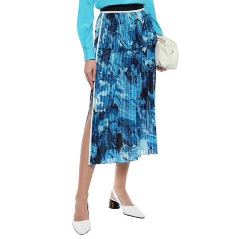 VICTORIA, VICTORIA BECKHAM MIXED PLEAT SKIRT