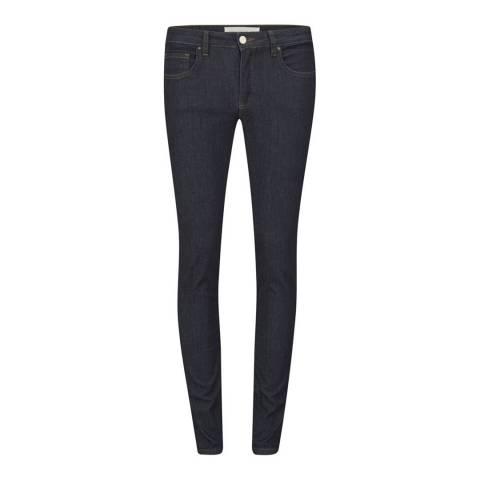 VICTORIA, VICTORIA BECKHAM Dark Blue Skinny Star Stretch Jeans