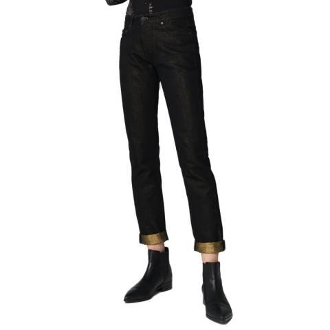 VICTORIA, VICTORIA BECKHAM Blue Slim Stretch Jeans