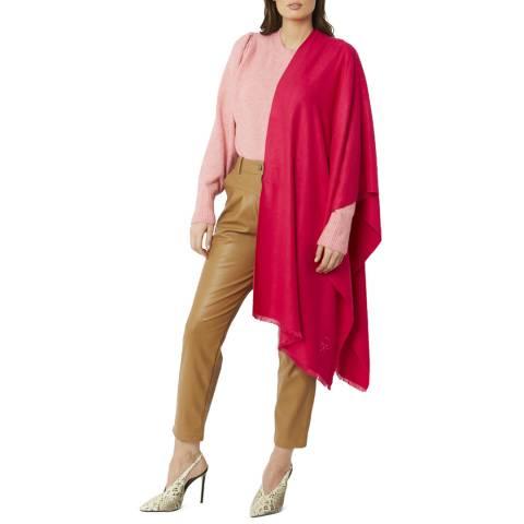 JayLey Collection Pink Cashmere/Silk Blend Pashmina