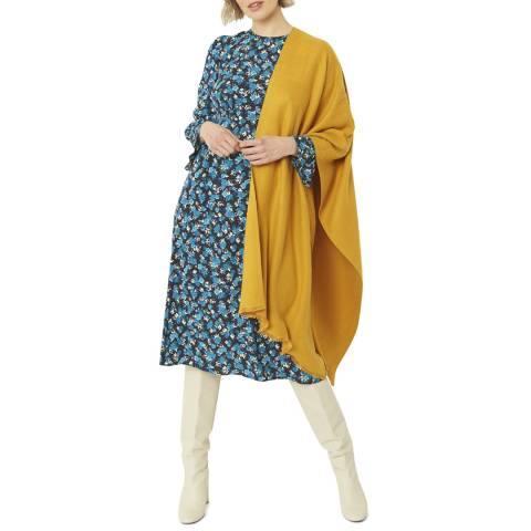 JayLey Collection Yellow Cashmere/Silk Blend Pashmina