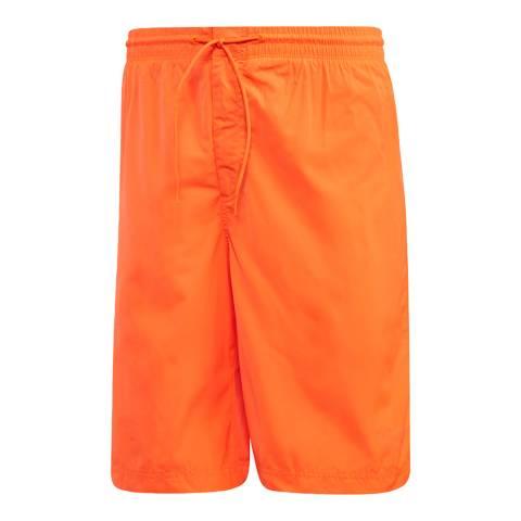adidas Y-3 Orange Swim Logo Short