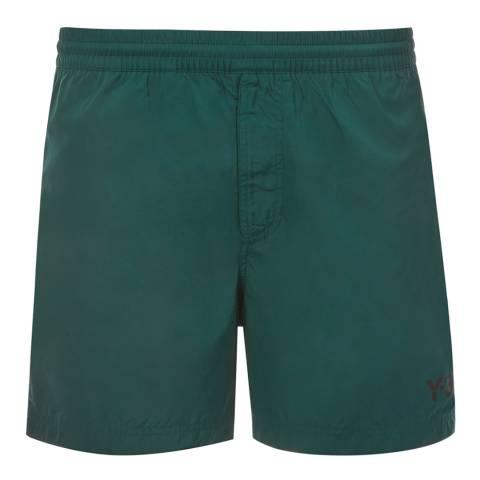 adidas Y-3 Green Swim Logo Short