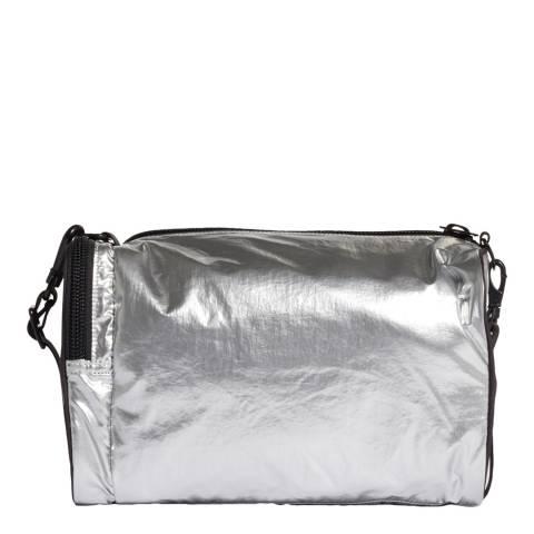 Y-3 Silver Mini Gym Bag
