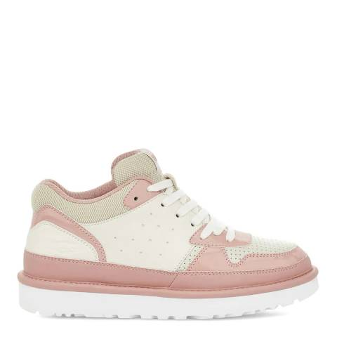 UGG White Sunset Highland Sneakers