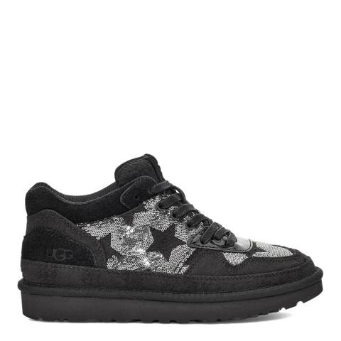 UGG Black Highland Sequin Sneakers