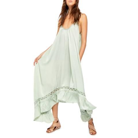 Free People Mint Amor Amor Maxi Dress