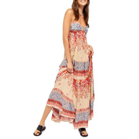 Free People Multi Give A Little Maxi Dress