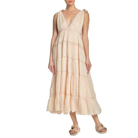 Free People Nude Lily Of The Valley Dress