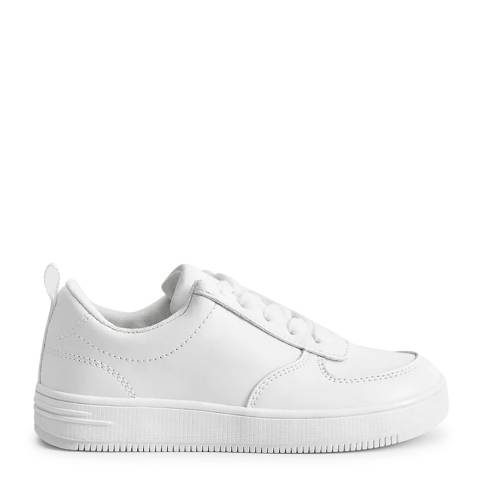 Mango White Laces Basic Sneakers