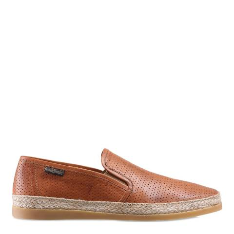 Russell & Bromley Tan Miami Summer Luxury Espadrilles