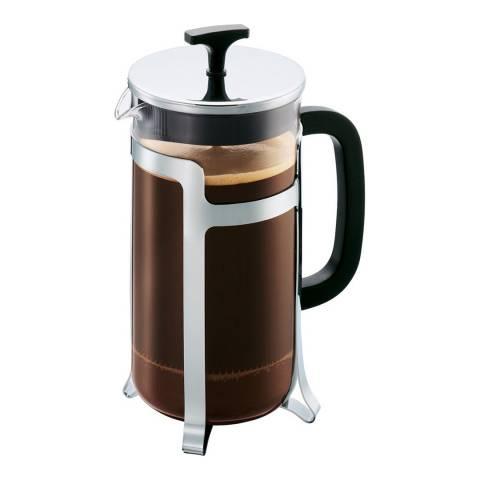 Bodum Silver Caffettiera Coffee Maker, 1L