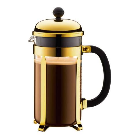 Bodum Gold Caffettiera Coffee Maker, 1L