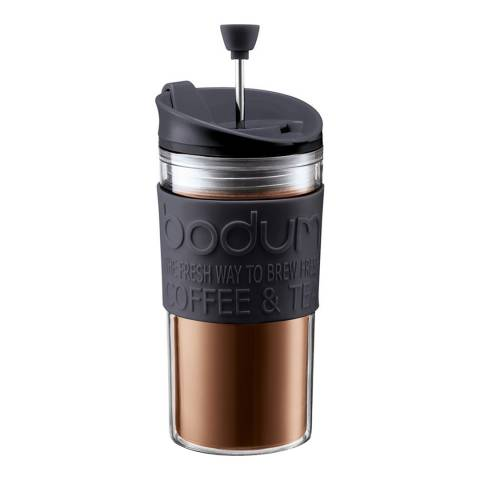 Bodum Black Coffee Maker with Extra Lid, 350ml