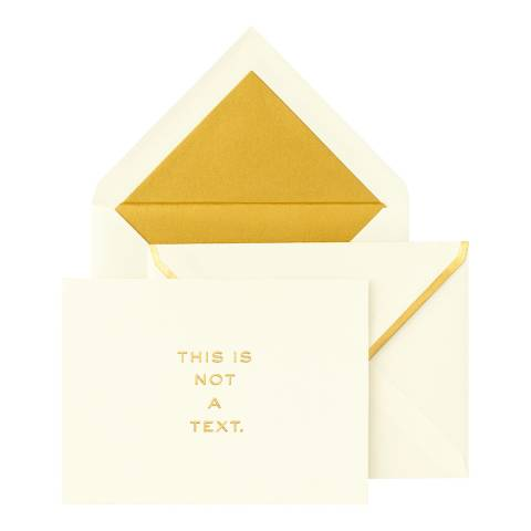 Kate Spade Foldover Cards, This is Not a Text