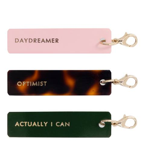 Kate Spade Planner Charm Tag Set, Actually I Can