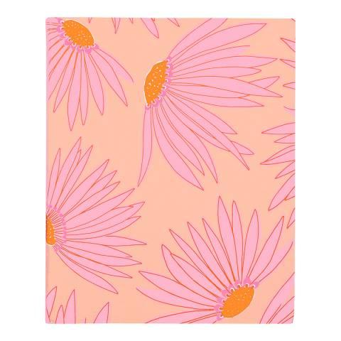 Kate Spade Concealed Spiral Notebook, Falling Flower