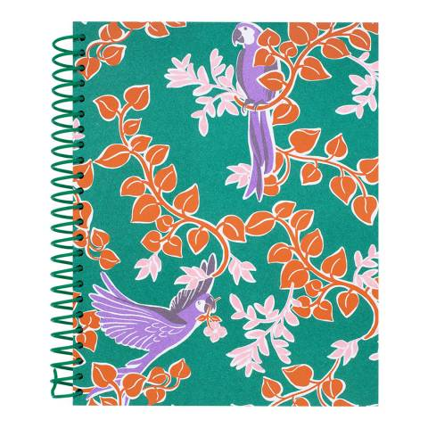 Kate Spade Spiral Notebook, Bird Party