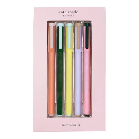 Kate Spade Colorblock Fine Tip Pen Set