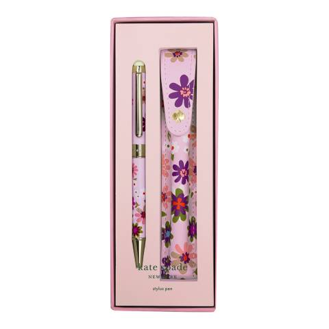 Kate Spade Stylus Pen with Pouch, Pacific Petals