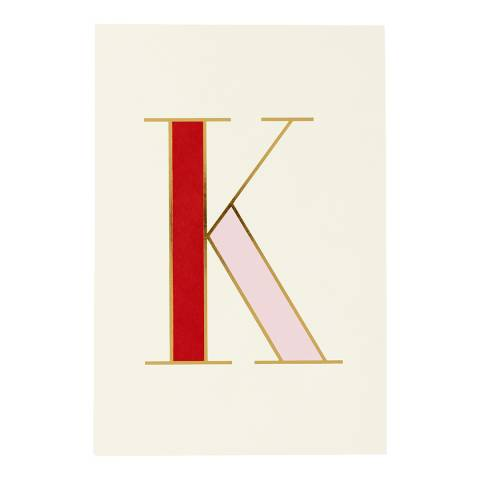 Kate Spade It's Personal Collection - Notepad, K