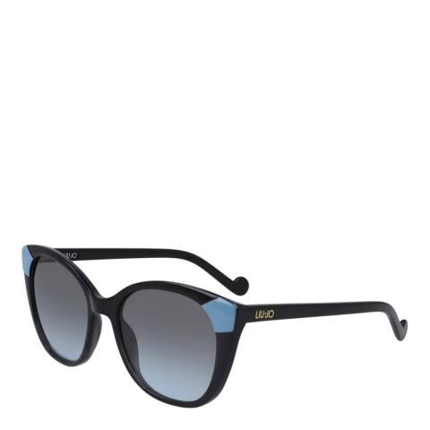 LIU JO Women's Blue Liu Jo Sunglasses 53mm