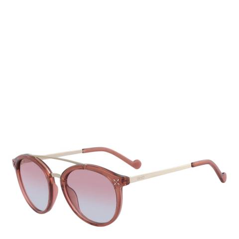 LIU JO Women's Pink Liu Jo Sunglasses 51mm