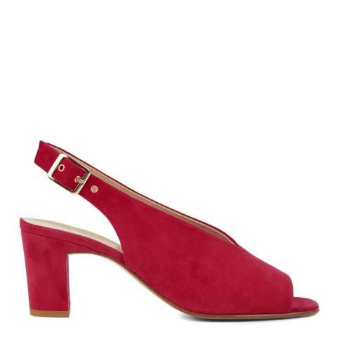 Hobbs London Red Kali Heeled Sandals