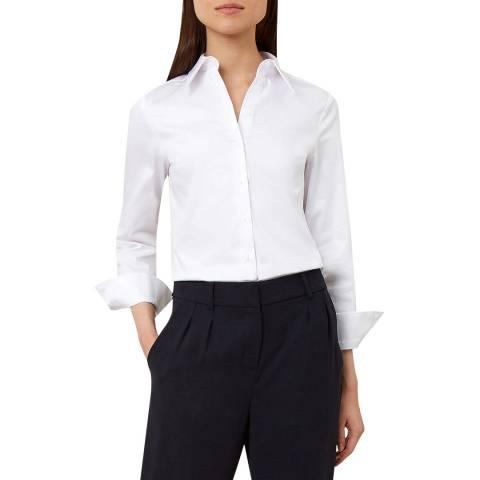 Hobbs London White Erin Shirt