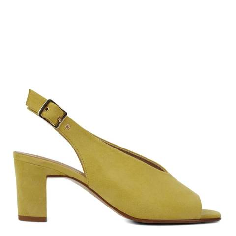 Hobbs London Yellow Kali Heeled Sandals