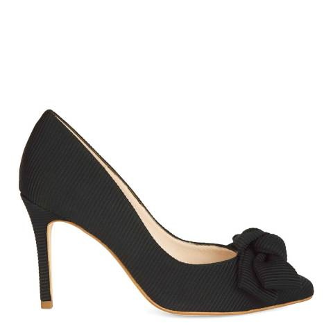 Hobbs London Black Flora Heeled Courts