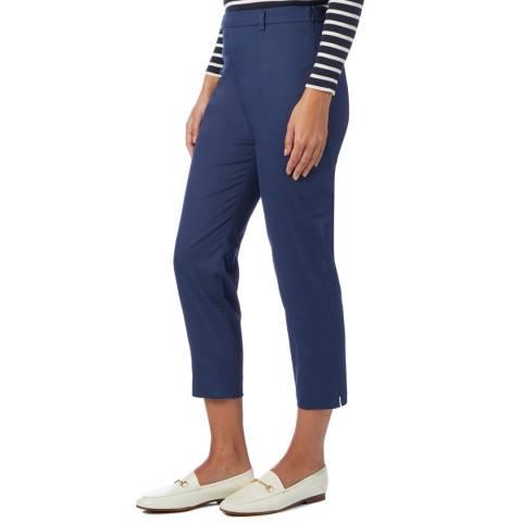 Hobbs London Dark Blue Mallory Capri Trousers