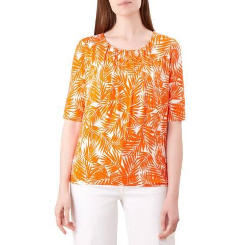 Hobbs London Orange Viola T-Shirt