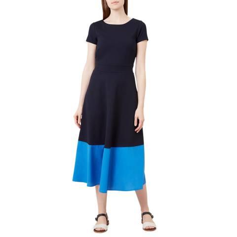 Hobbs London Navy Helenora Dress