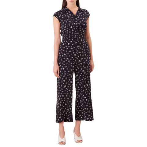 Hobbs London Navy Belinda Jumpsuit