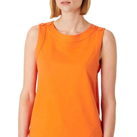 Hobbs London Orange Maddy Vest