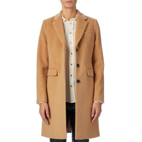 Hobbs London Camel Evelyn Coat