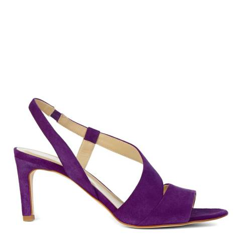 Hobbs London Purple Leah Heeled Snadals