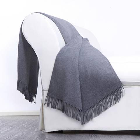 Lanerossi Abete Throw 130x170cm, Grey
