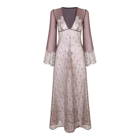 Myla Chocolate Rosemoor Street Long Gown