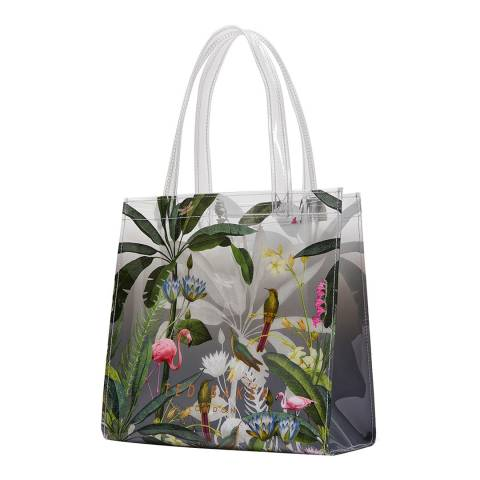 Ted Baker Light Grey Lylecon Small Icon Tote
