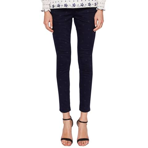 Ted Baker Midnight Dahlene Skinny Stretch Jeans