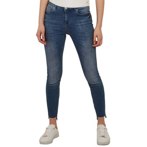 Ted Baker Blue Oranah Skinny Stretch Jeans