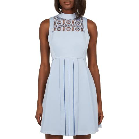Ted Baker Light Blue Bequa Dress